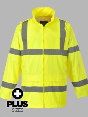 Portwest PLUS SIZE Hi-Vis Classic Rain Jacket
