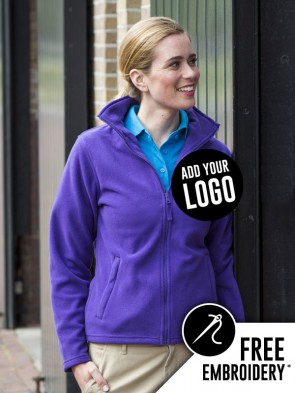 Henbury Ladies Micro Fleece