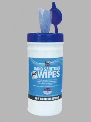 Portwest Hand Sanitiser Wipes - 200 Pack