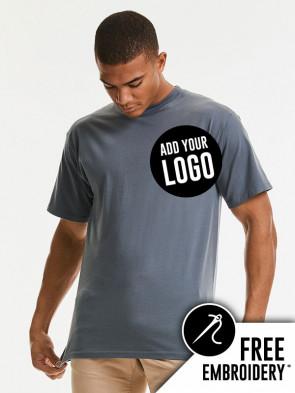 Russell Super Ringspun Classic 100% Cotton T-Shirt