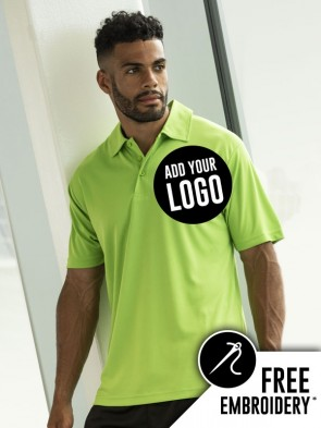 AWDis 100% Polyester Cool Polo Shirt