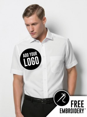 Kustom Kit Premium Non-Iron Corporate 100% Cotton Short Sleeve Shirt