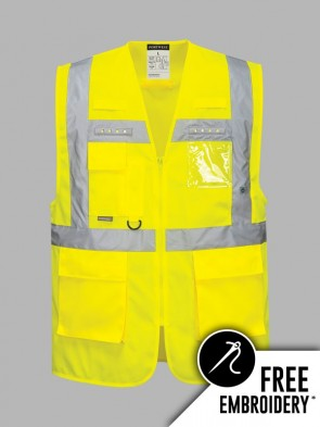 Portwest Hi-Vis Vega LED Vest