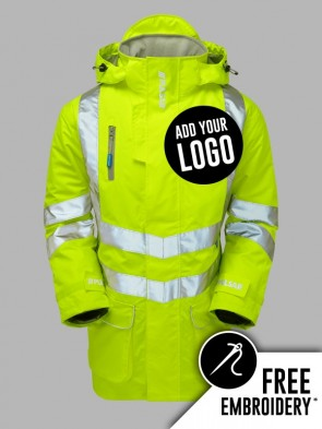 Pulsar Hi-Vis Padded Storm Jacket