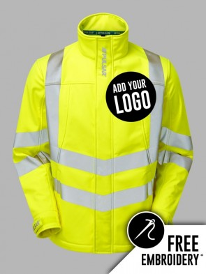 Pulsar Hi-Vis Interactive Soft Shell Jacket