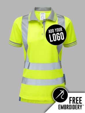 Pulsar Ladies Hi-Vis Polo Shirt