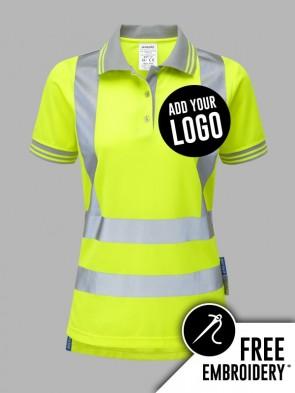 Pulsar Ladies Hi-Vis Polo Shirt