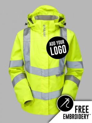 Pulsar Ladies Hi-Vis Storm Jacket