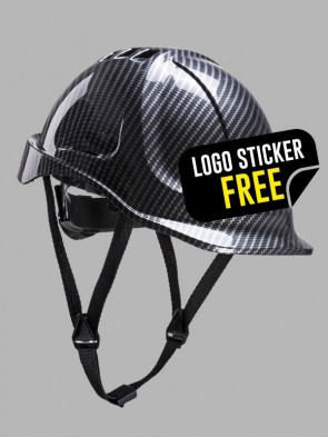 Portwest Endurance Carbon Look Vented Hard Hat