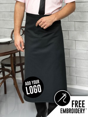 Premier Long Bar No-Pocket Apron