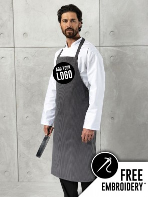 Premier Stripe No-Pocket Apron