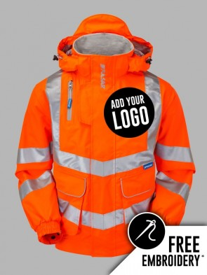 Pulsar Hi-Vis Rail Spec Unlined Bomber Jacket