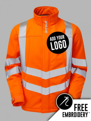 Pulsar Hi-Vis Rail Spec Interactive Soft Shell Jacket