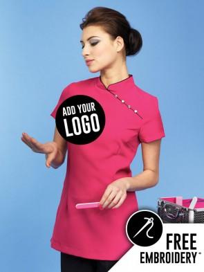 Premier Mika Feature Button Beauty & Spa Tunic