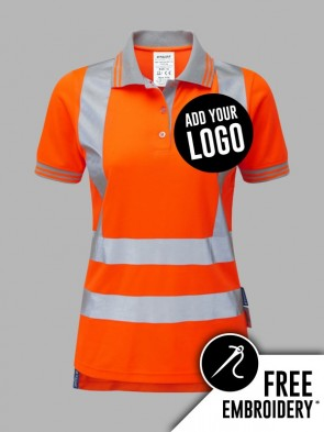 Pulsar Ladies Hi-Vis Rail Spec Polo Shirt