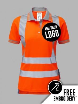 Pulsar Ladies Hi-Vis Rail Spec Polo Shirt