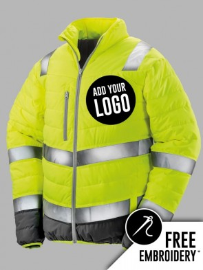 Result Safe-Guard Hi-Vis Soft Padded Safety Jacket
