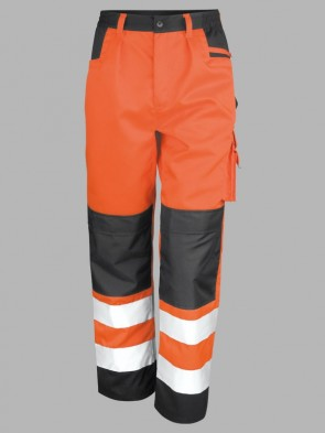 Result Safe-Guard Hi-Vis Contrast Safety Cargo Trousers