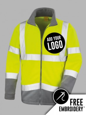 Result Safe-Guard Hi-Vis Safety Micro Fleece