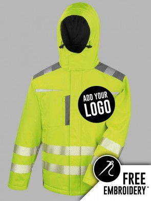 Result Safe-Guard Hi-Vis Dynamic Soft Shell Jacket