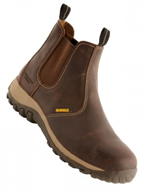 Dewalt Radial Leather Dealer Safety Boots SBP SRA