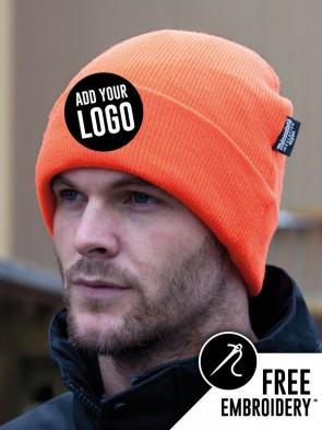 Result Winter Essentials Thinsulate Hi-Vis Woolly Ski Hat