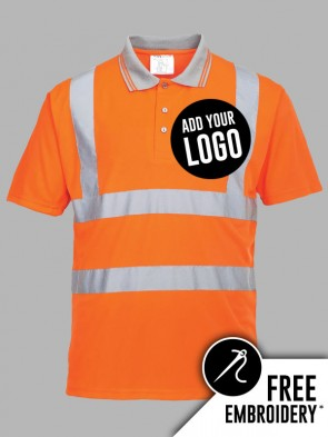 Portwest Hi-Vis GO/RT Polo Shirt