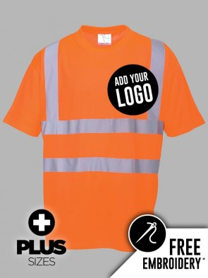 Portwest PLUS SIZE Hi-Vis GO/RT T-Shirt