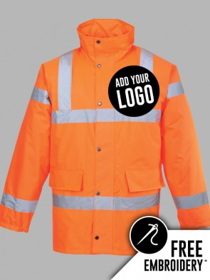 Portwest Hi-Vis GO/RT Traffic Jacket