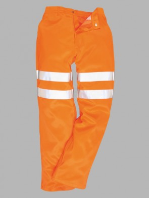 Portwest Hi-Vis GO/RT Polycotton Trousers