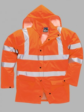 Portwest Hi-Vis GO/RT Sealtex Ultra Unlined Rain Jacket