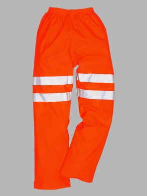 Portwest Hi-Vis GO/RT Sealtex Ultra Rain Trousers