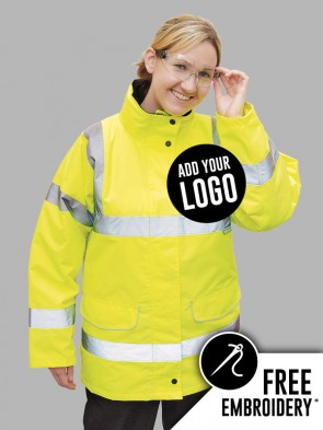 Portwest Ladies Hi-Vis Traffic Jacket