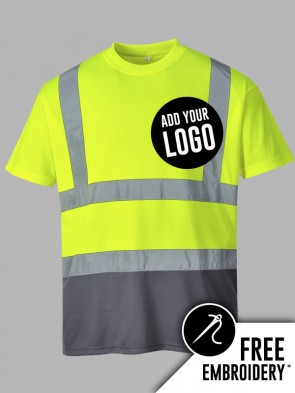 Portwest Hi-Vis Two Tone T-Shirt