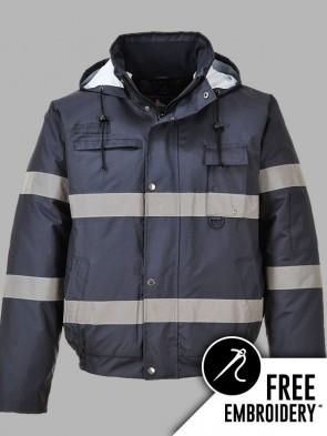 Portwest Iona Hi-Vis Lite Bomber Jacket