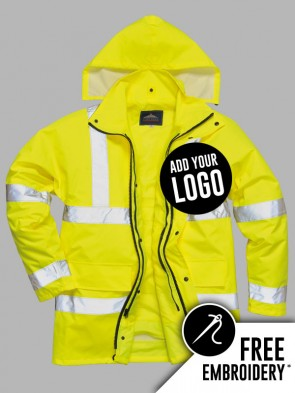 Portwest Hi-Vis 4 in 1 Traffic Jacket