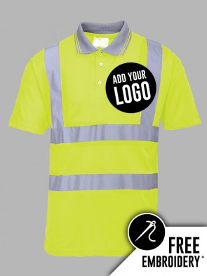 Portwest Hi-Vis Polo Shirt