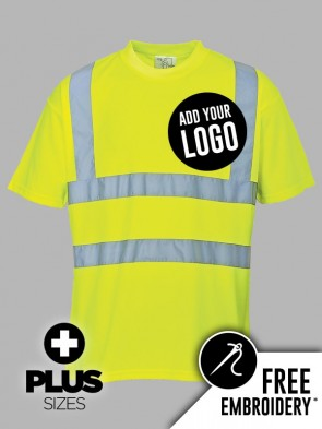 Portwest PLUS SIZE Hi-Vis T-Shirt