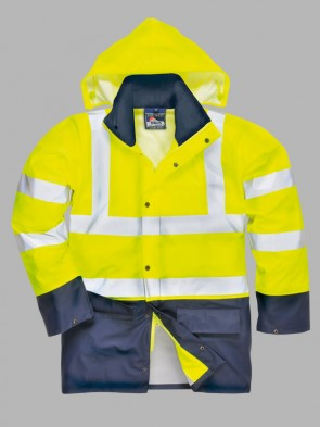 Portwest Hi-Vis Sealtex Ultra Two Tone Rain Jacket
