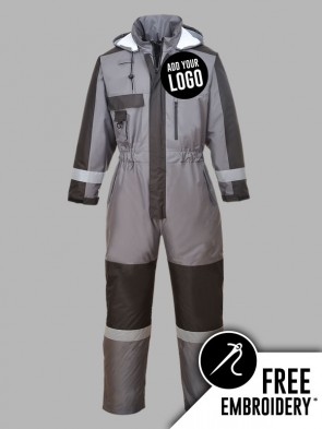 Portwest Hi-Vis Winter Overall