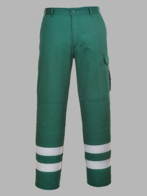 Portwest Iona Hi-Vis Safety Combat Trousers