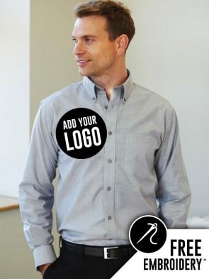 Dickies Long Sleeve Oxford Shirt