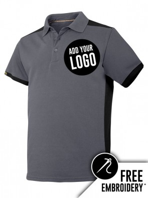 Snickers AllroundWork Contrast Polo Shirt
