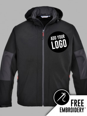 Portwest Hooded Soft Shell Jacket