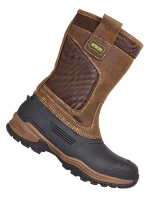 Apache Traction Waterproof Safety Rigger Boots SBH P AE FO WRU SRA