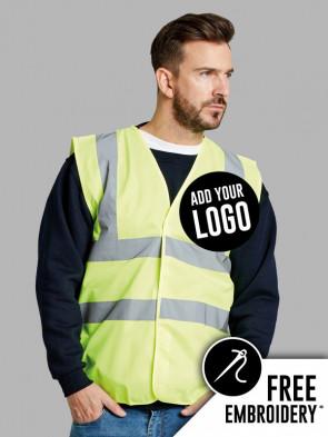 Ultimate Hi-Vis Four-Band Safety Vest