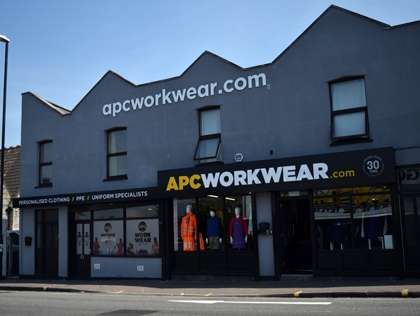 Our Bristol Workwear Showroom