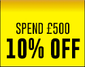 Spend £500 on workwear. Get 10% OFF