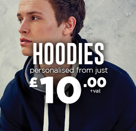 Personalised Hoodies. Add your logo.