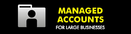 Managed accounts for large businesses